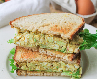 Curried Egg Salad – Gluten Free