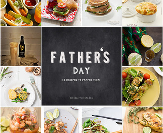Recipes to pamper Dad