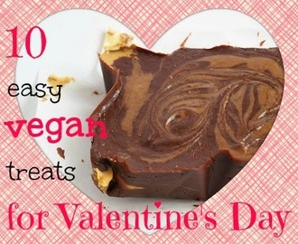 10 easy vegan treats for Valentine's Day