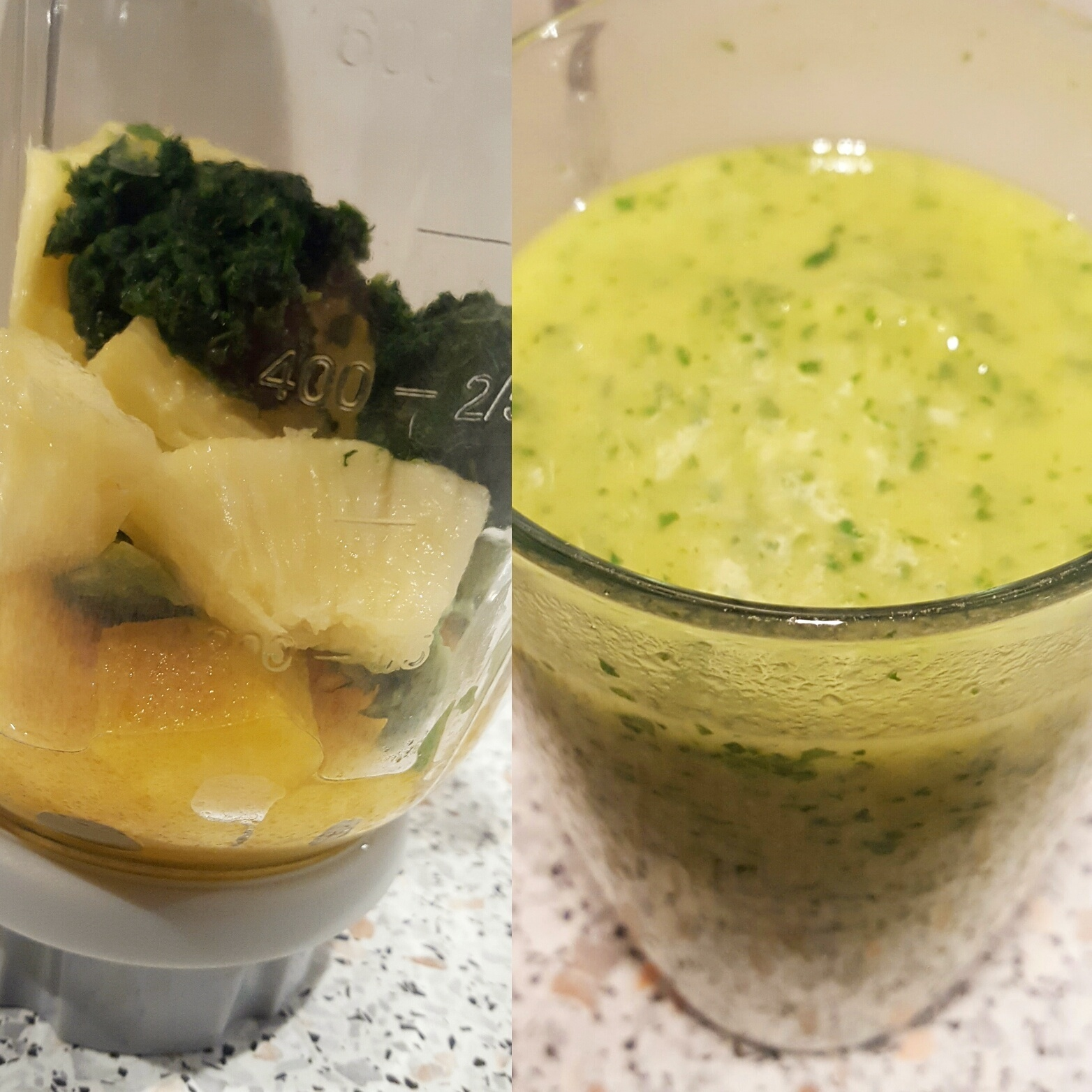 gezonde avocado spinazie smoothie