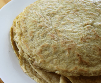 Paleo Tortillas- gluten, dairy and nut-free