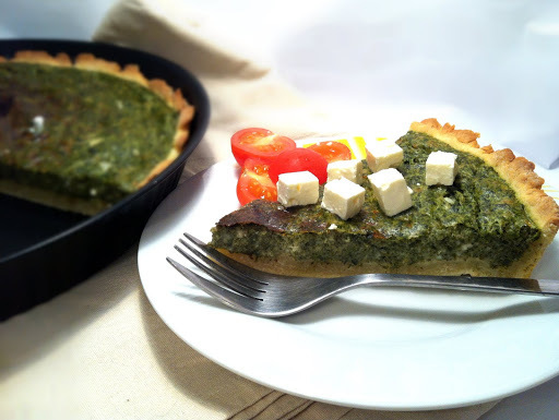 PITA OD ŠPINATA I SVJEŽEG SIRA / SPINACH AND COTTAGE CHEESE PIE