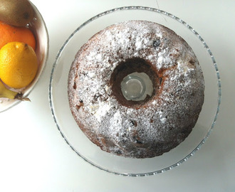 SOČNI KUGLOF S BOROVNICAMA I LIMUNOM / SOFT BUNDT CAKE WITH BLUEBERRIES AND LEMON
