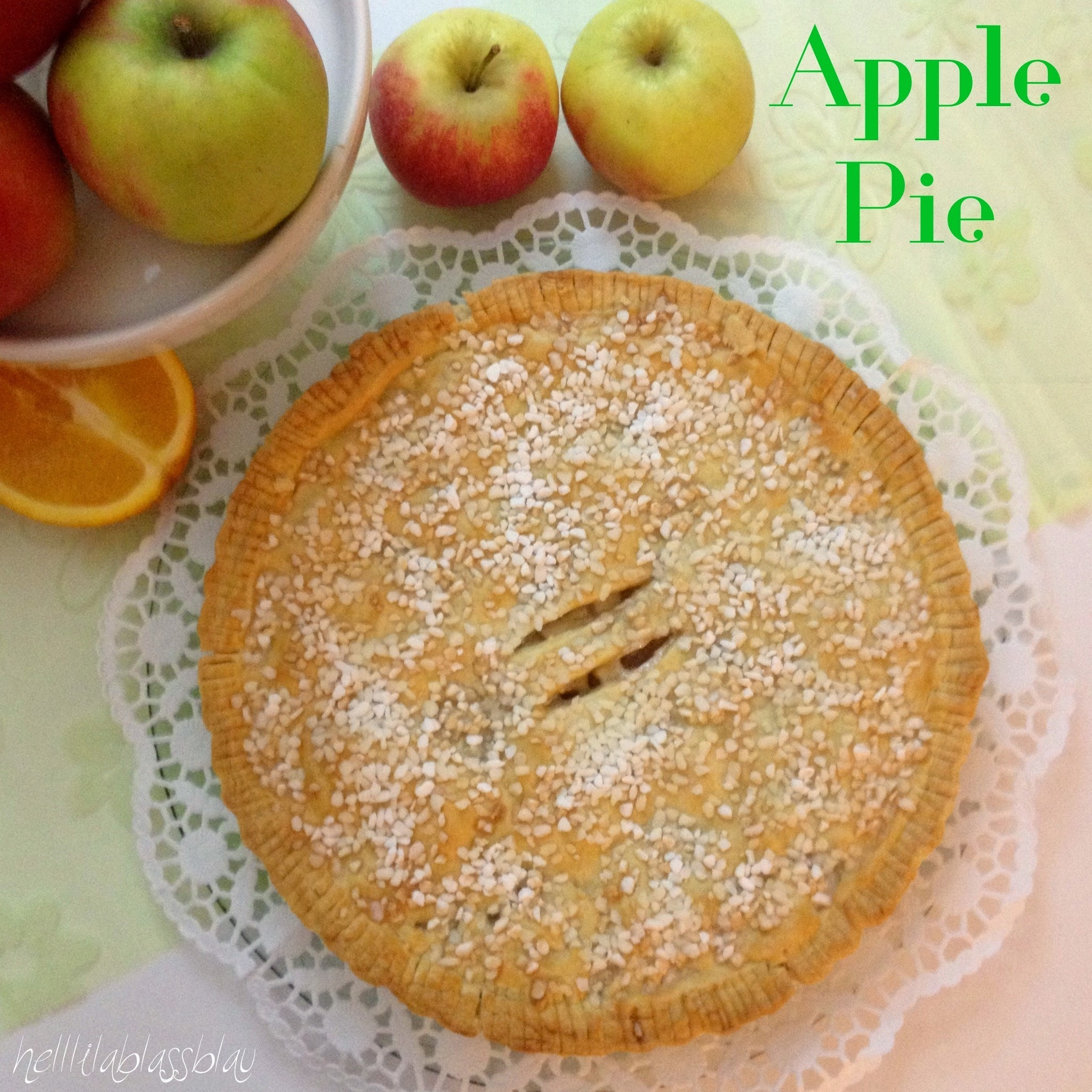 Ich backs mir - Apple Pie (Bücherregal, Sponsored Post)