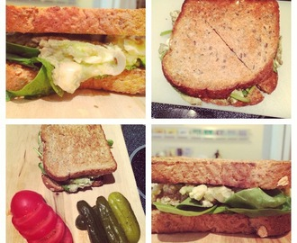 Easy Peasy Avocado Egg Salad Sandwiches
