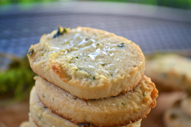 Paleo Coconut Basil Shortbread Cookies {recipe redux}