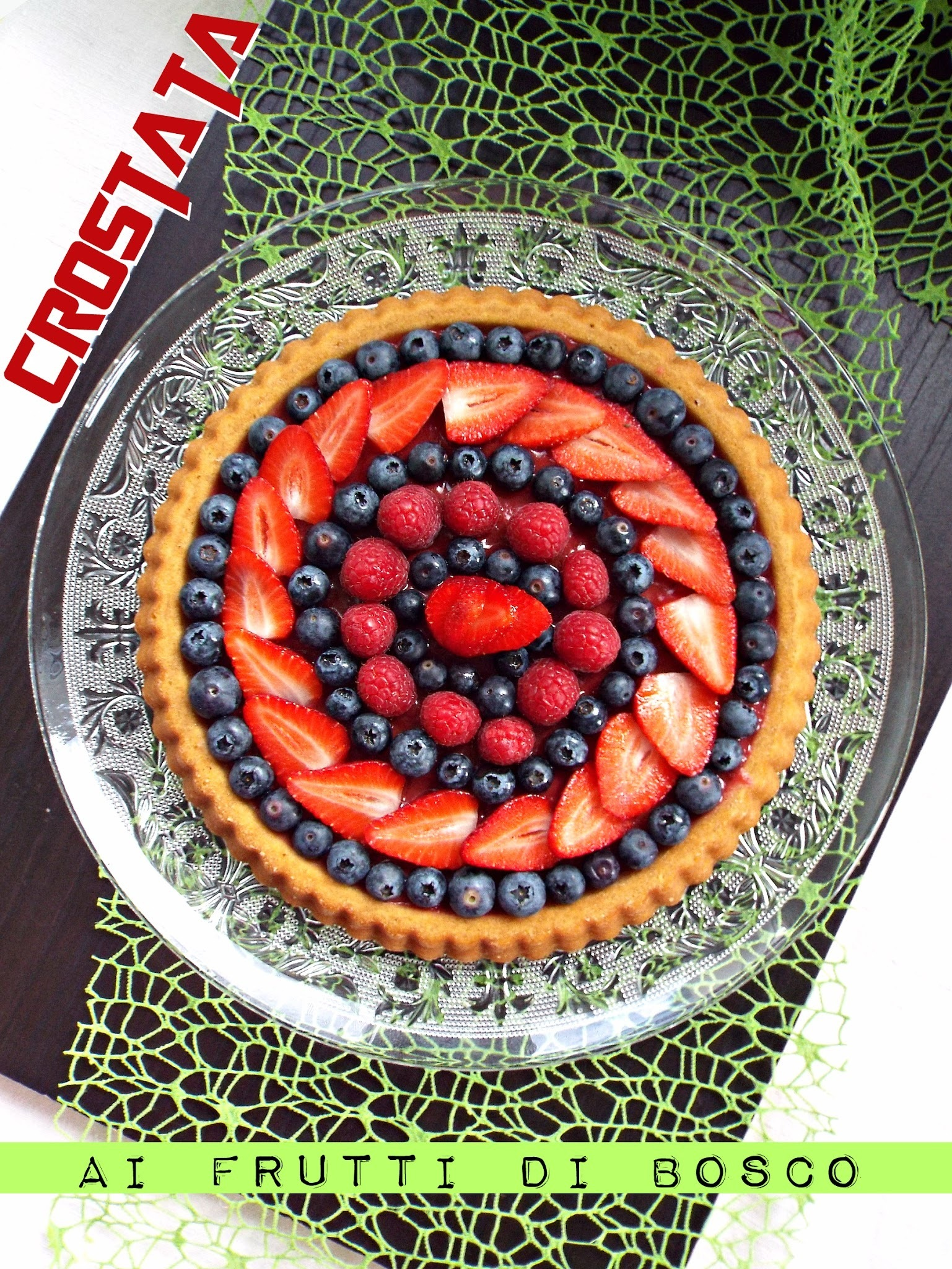 Crostata morbida ai frutti di bosco (vegan recipe)