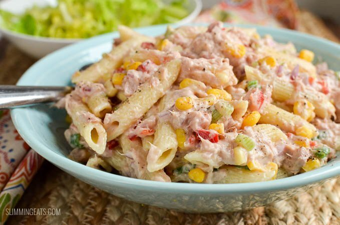 Slimming World Tuna Pasta Salad