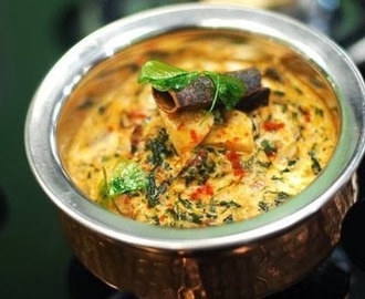 Methi Malai Mushroom/Mushroom with fenugreek and fresh cream