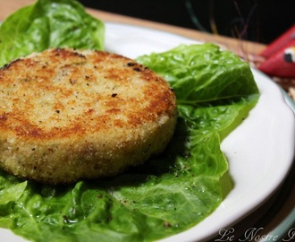 Hamburger di Salmone e Patate