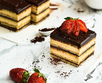 Fist pumping for Hump day/-/ Opera Cake