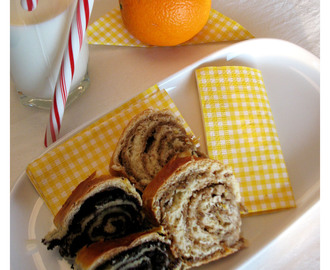 Mini Orehnjače i Makovnjače / Mini Walnut and Poppy Seed Rolls