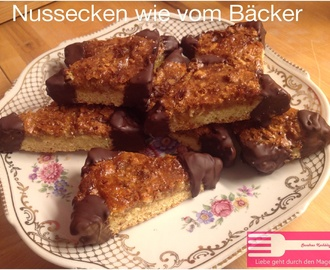 Nussecken (Originalrezept von Guildo Horns Mutter Lotti)