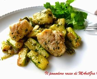 Ricette di coda di rospo e zucchine mytaste for Cucinare rana pescatrice