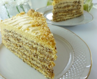 """Znam da nije"" Esterhazi torta / ""I know it's not"" Esterhazy Cake"
