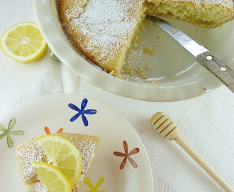 Kolač sa medom i limunom / Honey And Lemon Cake