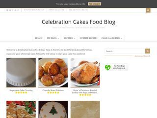 Celebration Cakes Food Blog