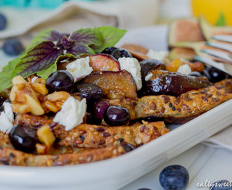Honeyed Fig and Feta French Toast