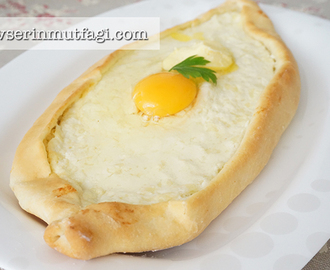 Egg And Cheese Turkish Flat Bread (Pide) Recipe