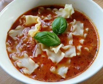 Lasagne Suppe