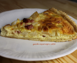 Quiche Asparagi e cotto