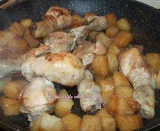 Ricette di come cucinare il pollo intero in padella mytaste - Come cucinare le cosce di pollo in padella ...
