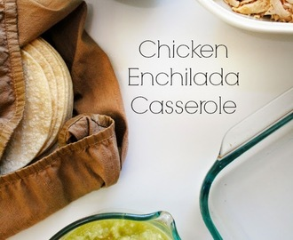 Chicken Enchilada Casserole + That Game!