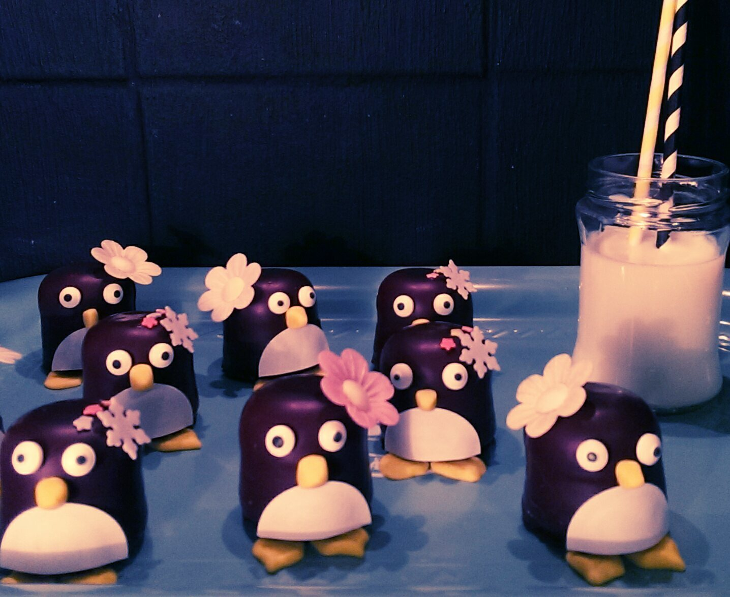 I'm in pingulicious love {Schokopinguine}