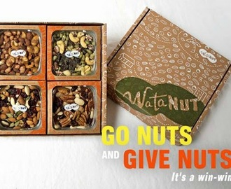 Review and Giveaway: Watanut Nut Subscription Mixed Nuts