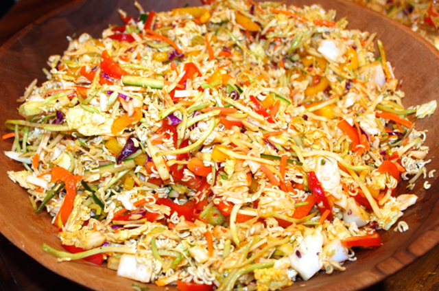 Crunchy Sweet Asian Chili Slaw
