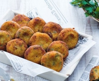 Finger food: polpettine di verdure e grana