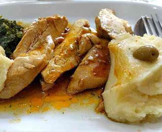 Ricette di come cucinare petto di pollo per bambini mytaste - Cucinare olive appena raccolte ...