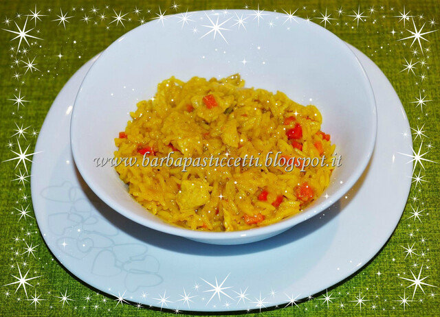 Riso Basmati con pollo al curry!