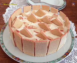 CHEESECAKE- WAFER LAMPONE -YOGURT