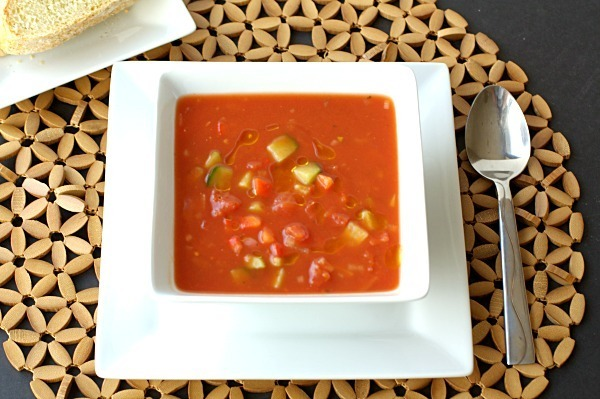 Healthy & Easy Gazpacho