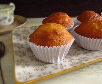 Orange muffins | Food From Portugal
