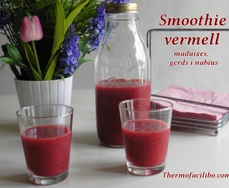 Smoothie vermell