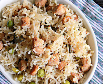 Soy Chunks Pulao, Meal Maker Pulao