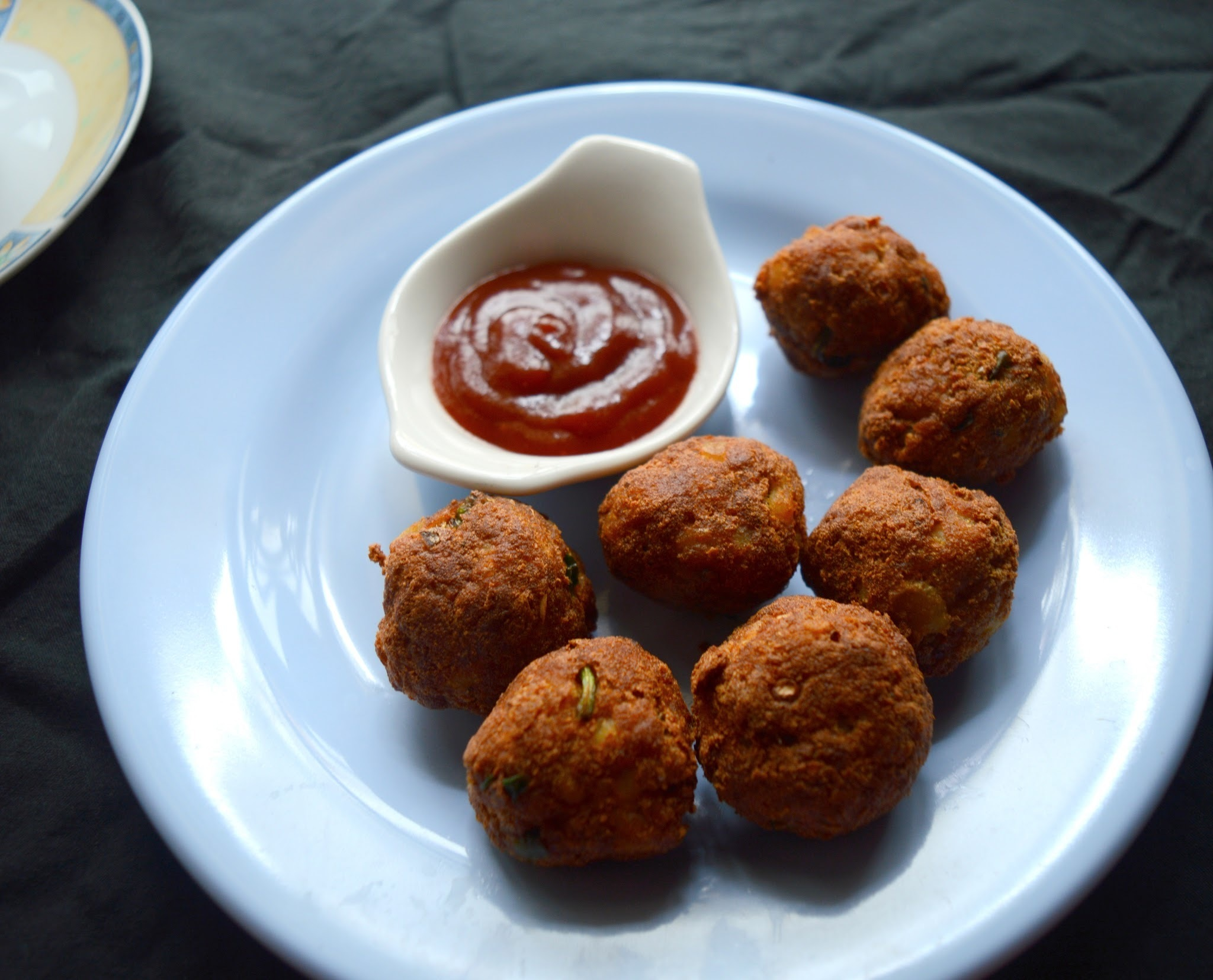 Bread Balls | Bread Potato Balls | Snack recipe