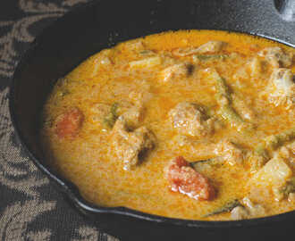 Chicken, Beans & Potato Curry