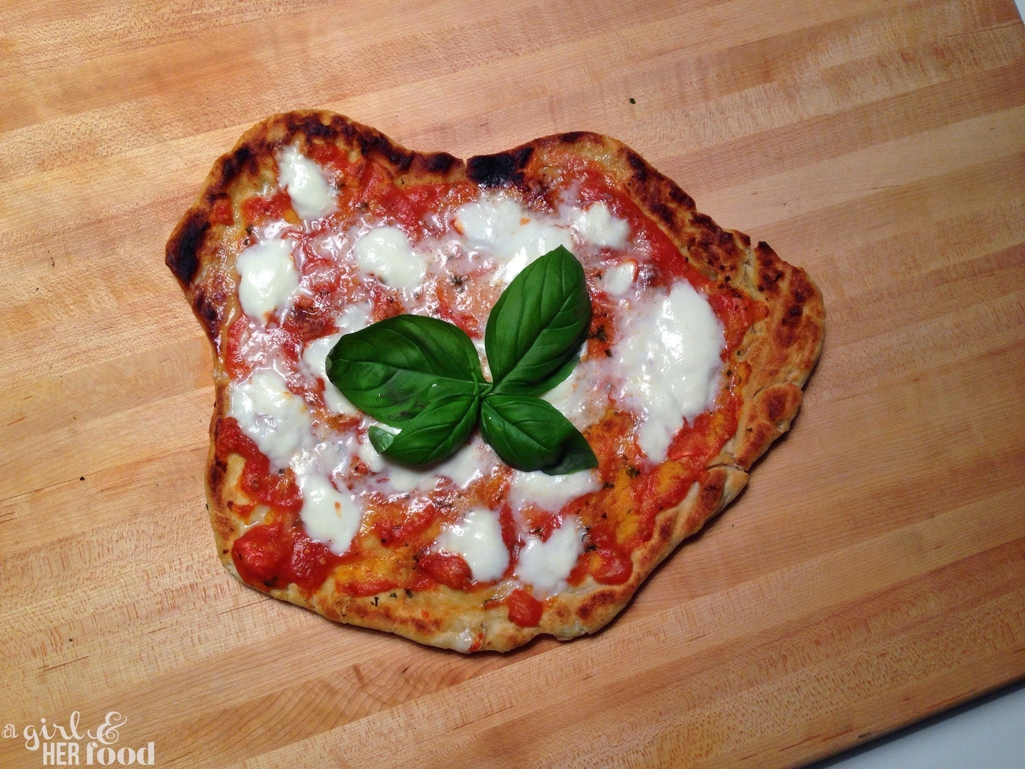 Grillling Pizza 101: Margherita Pizza