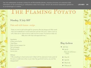 The Flaming Potato