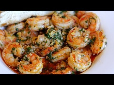 Best Garlic Shrimp Recipe ...quick and easy - YouTube