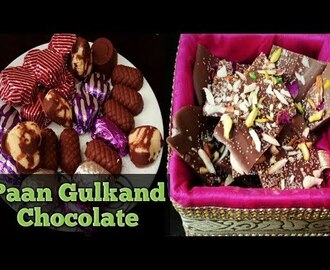 Special Paan Gulkand Chocolate/Homemade Chocolate/DIY Paan Chocolate