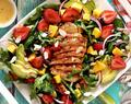 Strawberry-Mango Grilled Paleo Chicken Salad