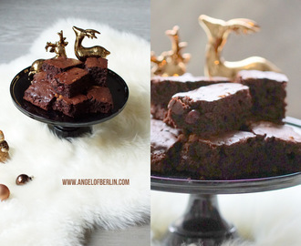 [bakes...] vegan Winter Brownies {vegan backen für alle}