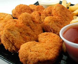 Nuggest de pollo caseros