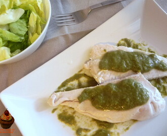 Petto di pollo con salsa verde light