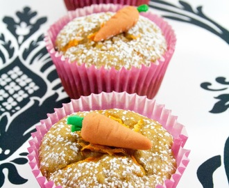 Muffin vegani alle carote / Vegan carrot muffin recipe