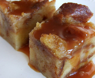 Crock Pot Nutella Bread Pudding w/Hard Sauce
